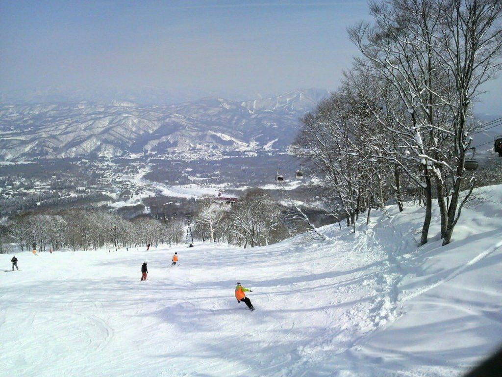 Ski et snowboard au Japon